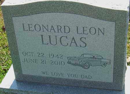 LUCAS, LEONARD LEON - Franklin County, Ohio | LEONARD LEON LUCAS - Ohio Gravestone Photos