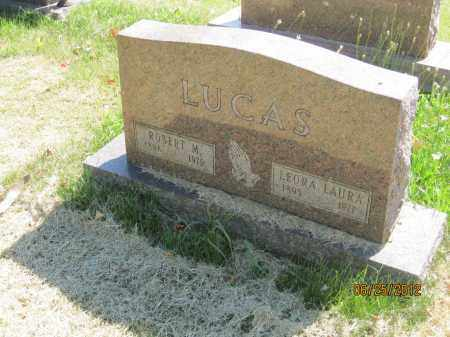 FLICK LUCAS, LEORA LAURA - Franklin County, Ohio | LEORA LAURA FLICK LUCAS - Ohio Gravestone Photos