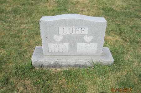 LUFF, JOSEPH DEAN - Franklin County, Ohio | JOSEPH DEAN LUFF - Ohio Gravestone Photos