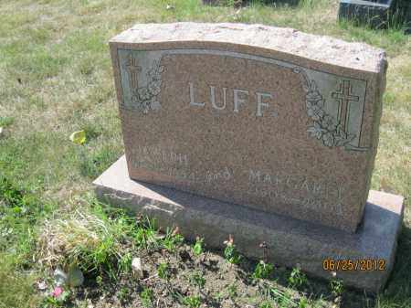 MOUSER LUFF, SARAH MARGARET MAUDE - Franklin County, Ohio | SARAH MARGARET MAUDE MOUSER LUFF - Ohio Gravestone Photos