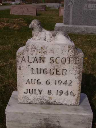 LUGGER, ALAN SCOTT - Franklin County, Ohio | ALAN SCOTT LUGGER - Ohio Gravestone Photos