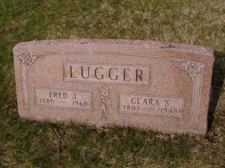 LUGGER, CLARA S. - Franklin County, Ohio | CLARA S. LUGGER - Ohio Gravestone Photos