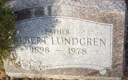 LUNDGREN, ALBERT - Franklin County, Ohio | ALBERT LUNDGREN - Ohio Gravestone Photos
