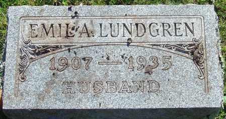LUNDGREN, EMIL A - Franklin County, Ohio | EMIL A LUNDGREN - Ohio Gravestone Photos