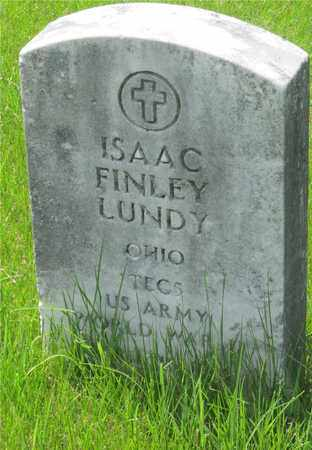 LUNDY, ISAAC FINLEY - Franklin County, Ohio | ISAAC FINLEY LUNDY - Ohio Gravestone Photos