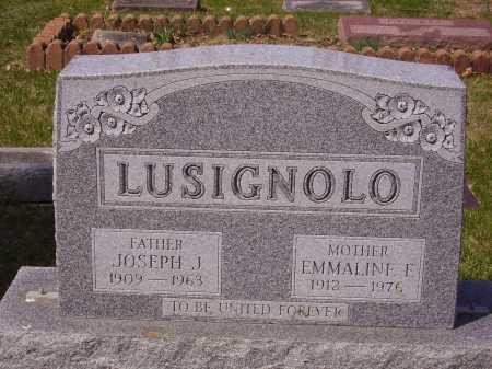 LUSIGNOLO, EMMALINE E. - Franklin County, Ohio | EMMALINE E. LUSIGNOLO - Ohio Gravestone Photos