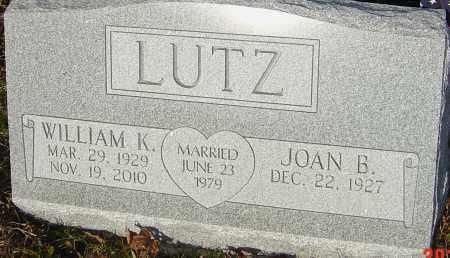 LUTZ, WILLIAM K - Franklin County, Ohio | WILLIAM K LUTZ - Ohio Gravestone Photos