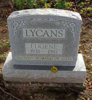 LYCANS, EUGENE - Franklin County, Ohio | EUGENE LYCANS - Ohio Gravestone Photos