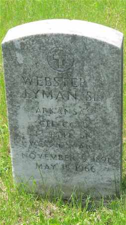 LYMAN, WEBSTER - Franklin County, Ohio | WEBSTER LYMAN - Ohio Gravestone Photos