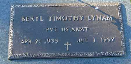 LYNAM, BERYL TIMOTHY - Franklin County, Ohio | BERYL TIMOTHY LYNAM - Ohio Gravestone Photos