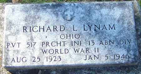 LYNAM, RICHARD L - Franklin County, Ohio | RICHARD L LYNAM - Ohio Gravestone Photos