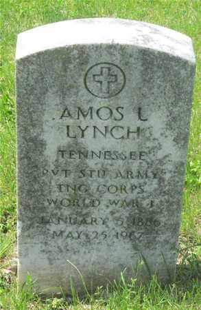LYNCH, AMOS L. - Franklin County, Ohio | AMOS L. LYNCH - Ohio Gravestone Photos