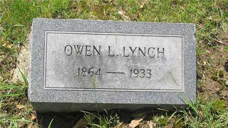 LYNCH, OWEN L. - Franklin County, Ohio | OWEN L. LYNCH - Ohio Gravestone Photos
