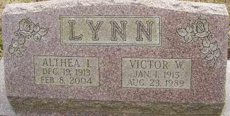 LYNN, VICTOR W - Franklin County, Ohio | VICTOR W LYNN - Ohio Gravestone Photos