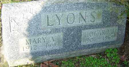 LYONS, MARY A - Franklin County, Ohio | MARY A LYONS - Ohio Gravestone Photos