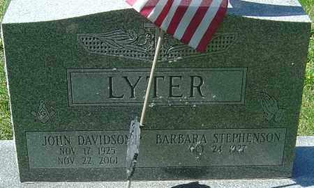 LYTER, JOHN DAVIDSON - Franklin County, Ohio | JOHN DAVIDSON LYTER - Ohio Gravestone Photos
