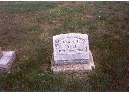 LYTLE, EDWIN S. - Franklin County, Ohio | EDWIN S. LYTLE - Ohio Gravestone Photos