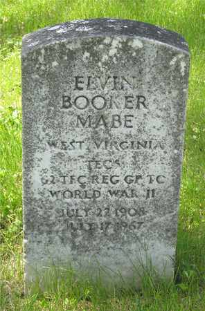MABE, ELVIN BOOKER - Franklin County, Ohio | ELVIN BOOKER MABE - Ohio Gravestone Photos