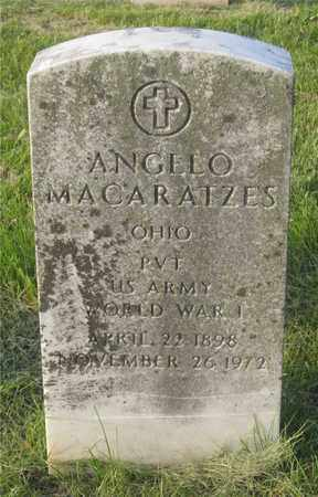 MACARATZES, ANGELO - Franklin County, Ohio | ANGELO MACARATZES - Ohio Gravestone Photos