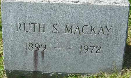 MACKAY, RUTH S - Franklin County, Ohio | RUTH S MACKAY - Ohio Gravestone Photos