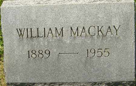 MACKAY, WILLIAM - Franklin County, Ohio | WILLIAM MACKAY - Ohio Gravestone Photos