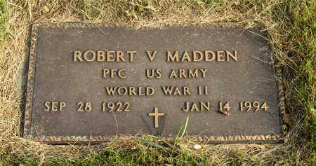 MADDEN, ROBERT V. - Franklin County, Ohio | ROBERT V. MADDEN - Ohio Gravestone Photos