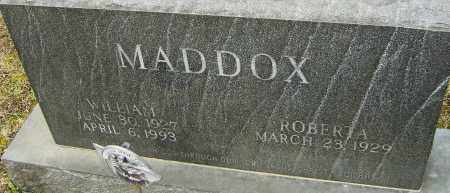 MADDOX, WILLIAM - Franklin County, Ohio | WILLIAM MADDOX - Ohio Gravestone Photos
