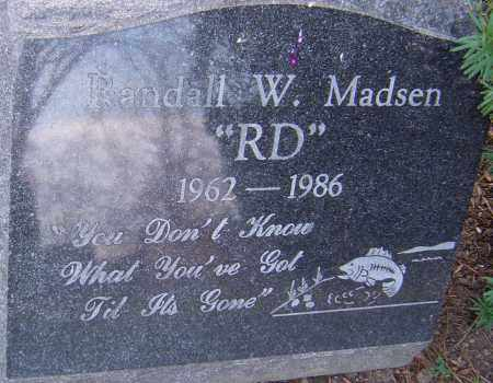 MADSEN, RANDALL - Franklin County, Ohio | RANDALL MADSEN - Ohio Gravestone Photos