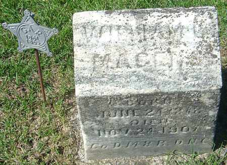 MAGERS, WILLIAM C - Franklin County, Ohio | WILLIAM C MAGERS - Ohio Gravestone Photos
