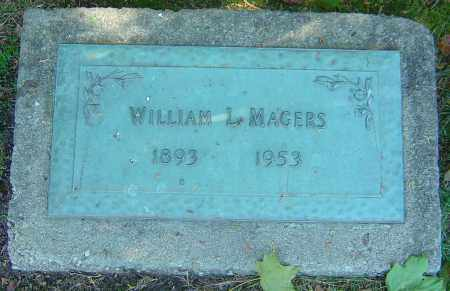 MAGERS, WILLIAM L - Franklin County, Ohio | WILLIAM L MAGERS - Ohio Gravestone Photos