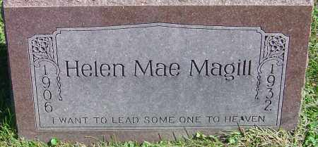 MAGILL, HELEN MAE - Franklin County, Ohio | HELEN MAE MAGILL - Ohio Gravestone Photos