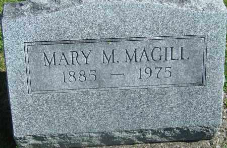 MAGILL, MARY M - Franklin County, Ohio | MARY M MAGILL - Ohio Gravestone Photos