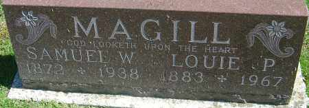 MAGILL, LOUIE - Franklin County, Ohio | LOUIE MAGILL - Ohio Gravestone Photos