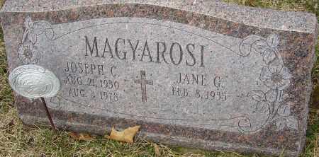 MAGYAROSI, JOSEPH CHARLES - Franklin County, Ohio | JOSEPH CHARLES MAGYAROSI - Ohio Gravestone Photos