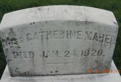 MAHER, CATHERINE - Franklin County, Ohio | CATHERINE MAHER - Ohio Gravestone Photos