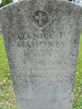 MAHONEY, DANIEL P. - Franklin County, Ohio | DANIEL P. MAHONEY - Ohio Gravestone Photos