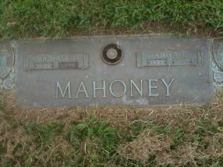 MAHONEY, MICHAEL J - Franklin County, Ohio | MICHAEL J MAHONEY - Ohio Gravestone Photos