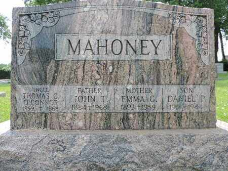 MAHONEY, DANIEL P. - Franklin County, Ohio | DANIEL P. MAHONEY - Ohio Gravestone Photos