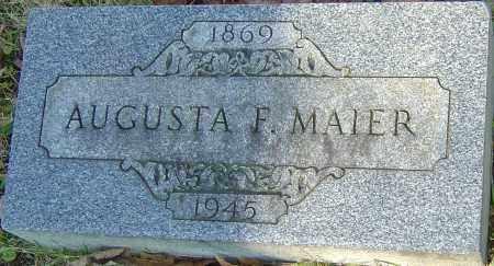 FISCHER MAIER, AUGUSTA - Franklin County, Ohio | AUGUSTA FISCHER MAIER - Ohio Gravestone Photos