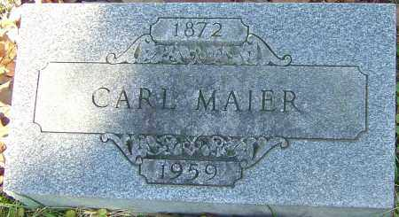MAIER, CARL - Franklin County, Ohio | CARL MAIER - Ohio Gravestone Photos