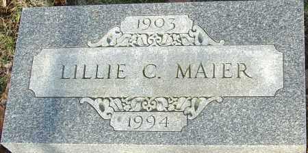 MAIER, LILLIE - Franklin County, Ohio | LILLIE MAIER - Ohio Gravestone Photos