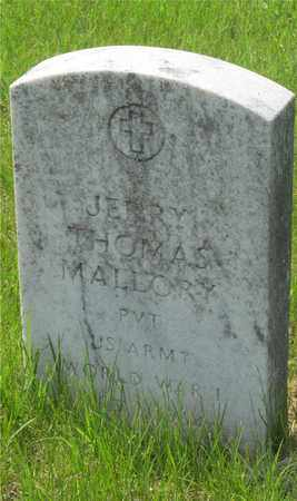 MALLORY, JERRY THOMAS - Franklin County, Ohio | JERRY THOMAS MALLORY - Ohio Gravestone Photos