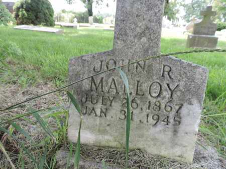 MALLOY, JOHN R. - Franklin County, Ohio | JOHN R. MALLOY - Ohio Gravestone Photos