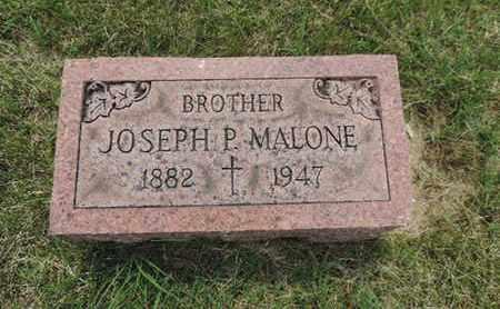 MALONE, JOSEPH P. - Franklin County, Ohio | JOSEPH P. MALONE - Ohio Gravestone Photos