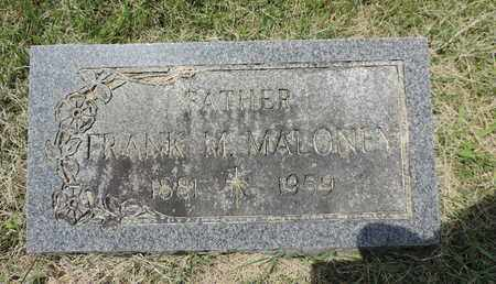 MALONEY, FRANK M. - Franklin County, Ohio | FRANK M. MALONEY - Ohio Gravestone Photos