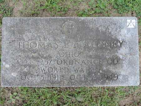 MALONEY, THOMAS E. - Franklin County, Ohio | THOMAS E. MALONEY - Ohio Gravestone Photos