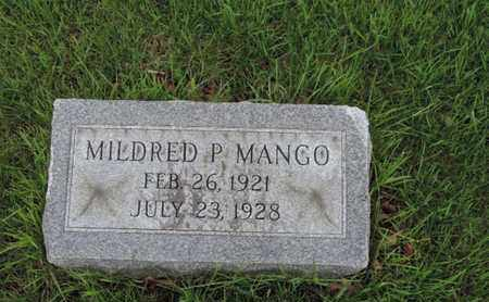 MANGO, MILDRED P - Franklin County, Ohio | MILDRED P MANGO - Ohio Gravestone Photos