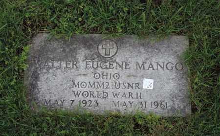 MANGO, WALTER EUGENE - Franklin County, Ohio | WALTER EUGENE MANGO - Ohio Gravestone Photos