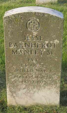 MANLEY, JESSIE BARNHERDT - Franklin County, Ohio | JESSIE BARNHERDT MANLEY - Ohio Gravestone Photos