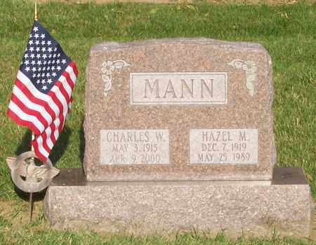MANN, HAZEL - Franklin County, Ohio | HAZEL MANN - Ohio Gravestone Photos